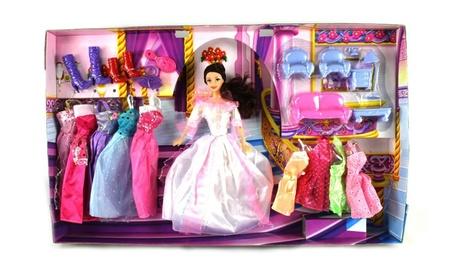 Fashion Castle Queen Toy Doll Playset 0697156e-eadd-4fa4-a118-01a8ba472e56
