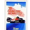 Monaco 1977 Canvas Print 18 x 24