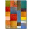Michelle Calkins 'Color Panes -Water and Waves' Canvas Art