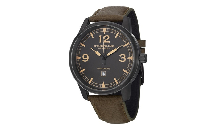 Stuhrling Original Men S Monaco Chronograph Bracelet Watch