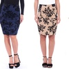 Premium Shaping Knee Length Pencil Skirt - Made in USA