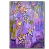Wendra Purple Orchids Canvas Print