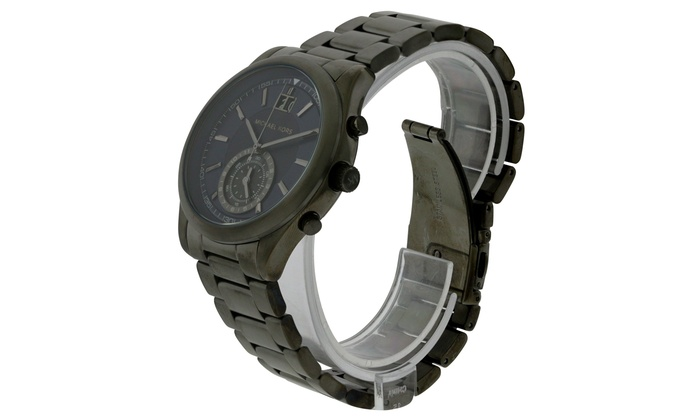 47e60acd87b7 Michael Kors Aiden Gunmetal Mens Watch MK8418