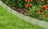 Galvanized Steel Lawn Edging Border by Pure Garden
