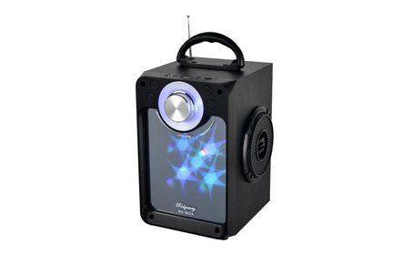 LED Screen Light Portable Bluetooth Speaker photo