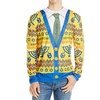 Faux Real F122019 Men's Ugly Hanukkah Faux Sweater Long Sleeve T-shirt