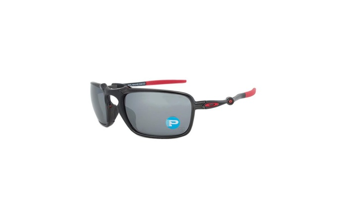 e7bde27c84 Badman Polarized Ferrari Edition Sunglasses OO6020-07 - Dark Carbon Frame -  Bl ...