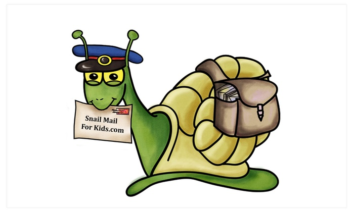 Snail Mail for Kids - A weekly letter from Sunny the Mail Snail ...
