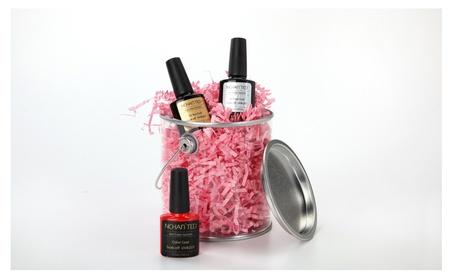 Nchan'ted Beauty 3 Piece Gel Nail Kit System 73acc505-e8e6-443f-b489-fc3711f054e7