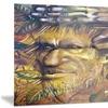 Sylvan Portrait Digital Art Metal Wall Art 28x12