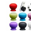 Portable Wireless Bluetooth Waterproof Mini Speaker / Mic Silicone Suction
