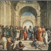 The School of Athens, c.1511 (detail) by  Raphael