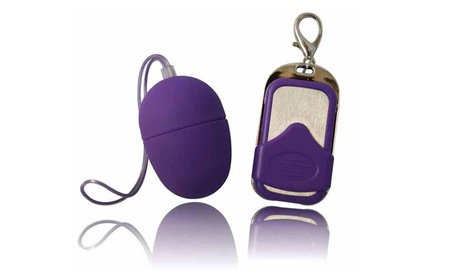 10 Frequency Vibrating Massage Egg with Wireless Keychain Remote 5c47c445-41b3-48dc-9334-c00731aae83b