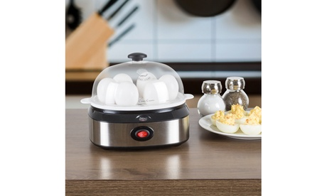Multi-Function Electric Egg Cooker with 7 Egg Capacity by Classic Cuisine b6be6373-dfec-4bb3-849d-c4b24b47161d