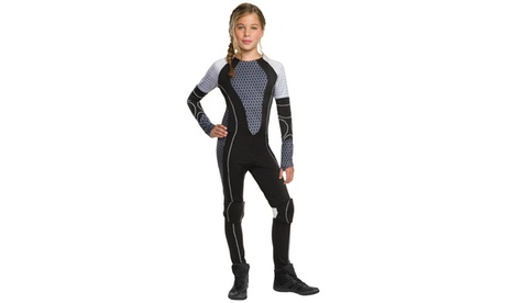 The Hunger Games: Tween Catching Fire Katniss Costume 57d1d9fa-6b97-4899-962e-342fe884559f