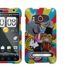 Insten Circus Phone Case for HTC: EVO 4G