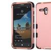 Insten Tuff Hybrid Case For Alcatel One Touch Fierce XL Rose Gold