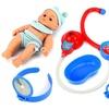 Velocity Toys Nurse Sick Baby Kid's Pretend Play Toy Doctor Nurse Set