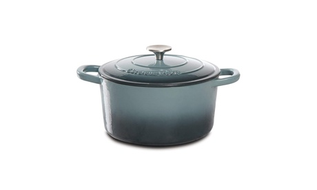 Gibson 69140.02 Artisan Enameled Cast Iron 5-Quart Round Dutch Oven photo
