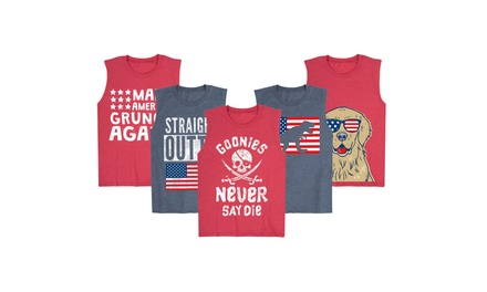 USA-Themed Boys Muscle Tank