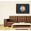 Virginia State Flag Framed Canvas Art Design Home Room Wall Décor 6053