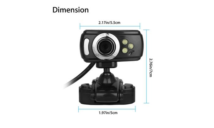 USB 50 Megapixel HD Webcam Web Cam Camera w// MIC For Computer PC Laptop Desktop