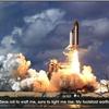 Shuttle Blastoff Educational Space Poster Print