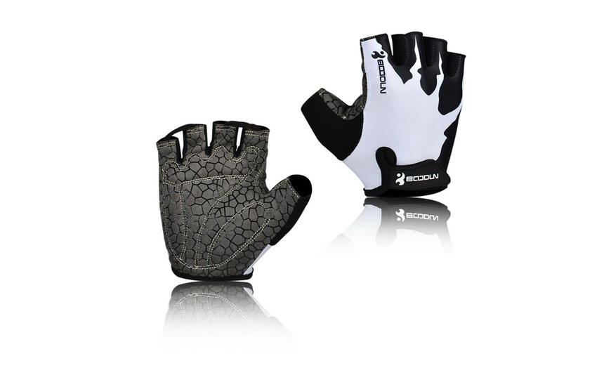 Bicycle Cycling Gloves Half Finger Bike Gym Fitness Gel MTB Mountain Road