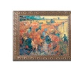 Van Gogh 'Red Vineyards at Arles 1888' Ornate Framed Art