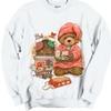 Christmas Eve Teedy Bear Cookies For Santa Crewneck Sweatshirt