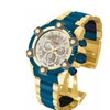 Invicta 13023 Silver Dial Reserve Quartz Chronograph Men's Watch