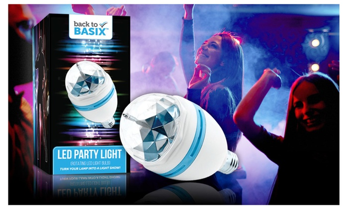 Buy It Now : Party Lights- Disco 3 Color Strobe Light, Stocking Stuffer