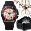 Studer Schild Diesel Chronograph Mens Watch Black/White/Red