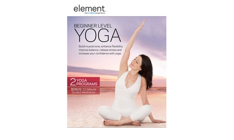 Element: Beginner Level Yoga DVD 773126a5-caaf-4617-8ffd-7241801fb8fd