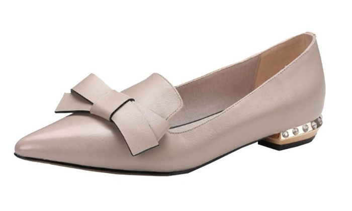 Women's Casual Pointed Toe Flats Shoes