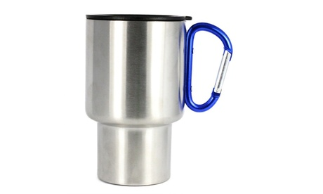 AGS Brand Stainless Steel Carabiner Mugs 8oz. -3 Pack 250b81c6-a593-4f47-8761-d4caca29b84b
