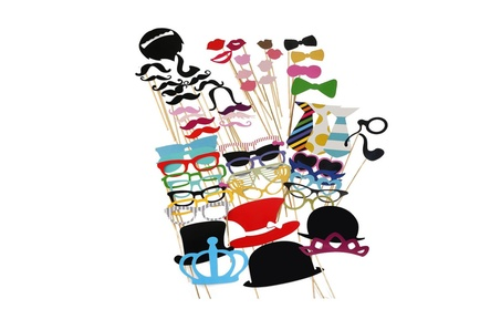Photo Booth Props 60 piece 05c85023-5935-4e87-9ea0-7dab82e6ae49