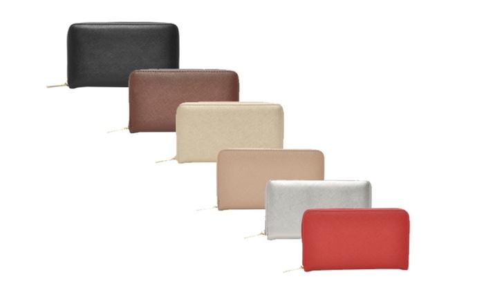 Mechaly Women's Katie Vegan Leather Wallet