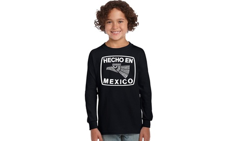 Girl's Long Sleeve - HECHO EN MEXICO 37e5efa5-f143-4748-aa21-e80555ea5720