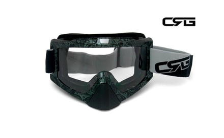 CRG Motocross ATV DIRT BIKE OFF ROAD RACING GOGGLES Adult T815-67-5