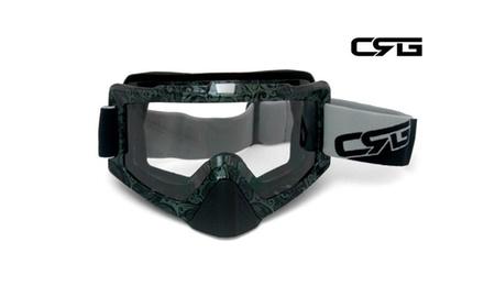 CRG Motocross ATV DIRT BIKE OFF ROAD RACING GOGGLES Adult T815-67-5