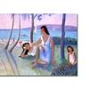 Manor Shadian Kihe Shore Canvas Print