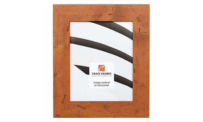 Craig Frames Bauhaus 200 Modern Rustic Light Walnut Picture Frame