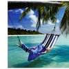 Tropical Beach (Hammock Under Tree, Huge) Art Poster Print