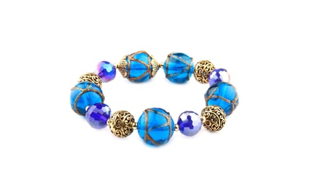 Cleo Collection Cobalt Bracelet