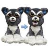 "Feisty Pets: Sammy Suckerpunch- Adorable 8.5"" Plush Stuffed Dog"