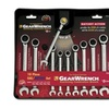 KD Tools KDT9418 10 Piece SAE & Metric Combination Gear Wrench Set