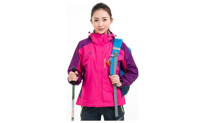 Women's Windproof Hoodie Outdoor Full Zip Active Jacket