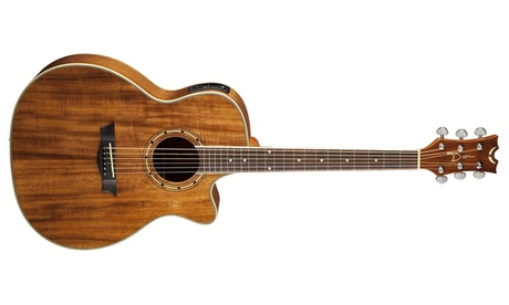 Dean Exotica Acoustic/Electric Guitar - Koa Wood 148b7332-f406-497b-8df2-86c636839a10