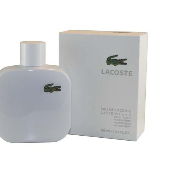 86735b9c28 Eau De Lacoste L.12.12 Blanc Eau De Toilette Spray 3.3 Oz / 100 Ml for Men    Groupon